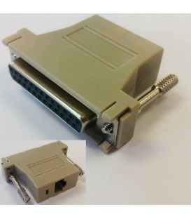 RJ45-DB25 (Female) Adapter for L2/C2-RJ45 Console Cable