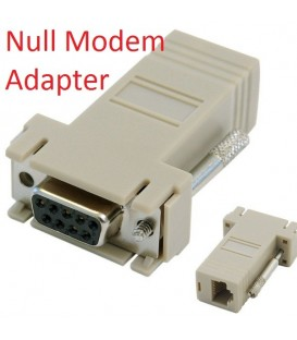 Null Modem RJ45-DB9 (Female) Adapter for C2-RJ45 Console Cable